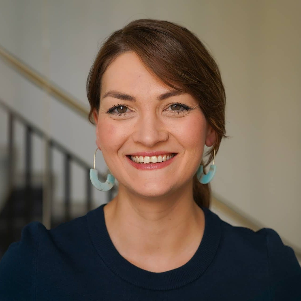 Lachendes Portrait von Judith Gerlach