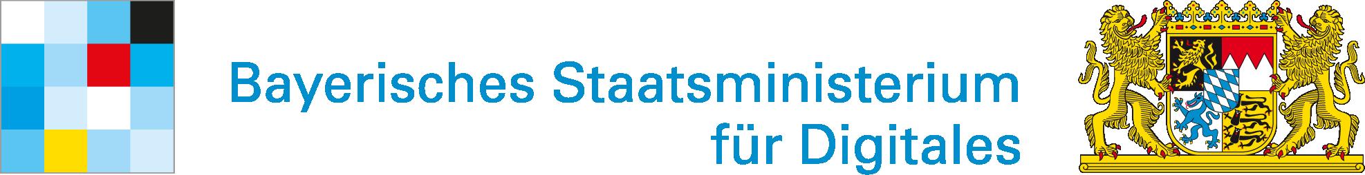 Bayerischer Staatsministerium für Digitales Logo